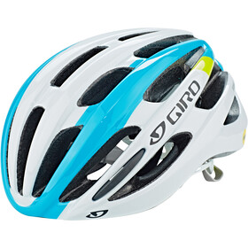 Giro Foray MIPS Casque, white/iceberg/citron